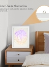 3D Paper Cut Light Box USB Powered LED Shadow Lamp Decorative Night Light with Switch for Bedroom Living Room Baby Nursery Wedding Gift