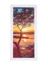 HD stampato 5-Panel senza cornice Sunset Landscape Pattern Tela Pittura di arte della parete Immagini modulari Decor per la casa Soggiorno camera da letto