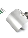 Homgeek Wall Mounted Brushed Stainless Steel Toilet Paper Tissue Rack Holder Hanger for Bathroom Storage Kitchen Hotel
