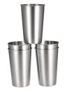 5 PCS in acciaio inossidabile Pint Coppe Bicchiere di birra tazza di corsa e del dispositivo di raffreddamento Tazze del partito di campeggio di picnic tazza di succo di resistenza di goccia