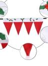 Fournitures Décoration de Noël fenêtre de Noël Mignon Panneau Drapé décoratif de Noël de porte fenêtre Rideaux Pennant Bunting Valance