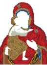 Bricolage à la main 5D Diamond Painting Christianisme Décoration de motifs de personnage pour la salle de séjour Étude de chambre
