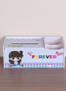 Caixa de tecido multifuncional criativo DIY item de casa Bolso de bolso-lenço Telecontrolador caixa de armazenamento caixa de recipiente