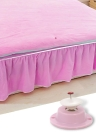 Rosa fuerte cubierta de edredón magnética Pins Clips Set Prevenir Bunching Shifting Comforter Duvet Fasteners