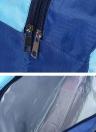 Mojado Seco Bolsas Separadas Bolso Bolsa de Almacenamiento de Gran Capacidad Bolsa de Ropa Impermeable para Playa de Natación Gimnasio Spa Parque Acuático Surfing Rafting (Sonrisa Rosada)