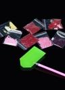 Diamant Peinture Point De Croix Artisanat Couleur Chat Visage Illustration BRICOLAGE 5D Ronde Diamant Broderie Décoration de La Maison