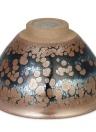 Partridge Feather Tenmoku Tea Cup Jianzhan Tazza da tè Mini Tea Bowl Cinese Kungfu Tea Cup Cinese National Arts and Crafts Chawan dal cinese Vintage Style Glaze Teaware