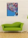 Nueva DIY pintura al óleo digital por números sin marco pintado a mano de pintura por número de 16 * 20