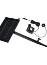 Anself 10V 5W солнечных батареях Безщеточный Водяной насос Встроенный хранения батареи Погружной насос фонтан Садовый пруд 200L / H Lift 150см