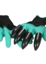 1 Pair Plastic Claws (Right Hand) Gardening Rubber Gloves Digging Planting Plant Flower Pruning Protective Unisex Quick & Easy