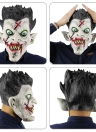 Latex Full Head Scary Zombie Mask Horror Toothy Ghost Masks for Halloween Masquerade Costume