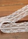 Dentelle brodée blanche Ruban Rubans ornementaux bricolage Décoration de la maison romantique