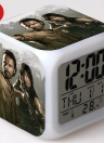 Walking of Dead Colorful Multi-function Date Week Temperature LED Glowing Digital Alarm Clock Cube Cute Toys Style 5