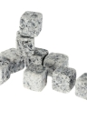 9pcs 18mm Whisky Ice Stones Drinks Cooler Cubes Beer Rocks Granite with Pouch