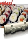 Home Kitchen Sushi Roll Maker Mold Bazooka Kit Sushezi Rice Roller Chef Gourmet Cooking DIY Mould Tube Tool Set