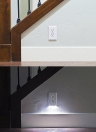 LED Night Angel Light Wall Outlet Fronte Hallway Camera Bagno Nuovo Concetto