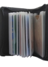 Portable Card Pack - RFID Security Protective - Contiene 36 carte Lock-wallet per uomini e donne