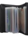 Portable Card Pack - RFID-Sicherheitsschutz - Hält 36 Karten Lock-Wallet für Männer und Frauen