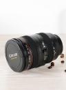 Lentille de caméra en plastique voyage café tasse à thé tasses
