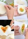 3pcs 8cm fai da te cucina gnocchi muffa premere pasta pasta torta maker gyoza empanada strumento di stampo