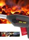 Manualmente barbecue Ventilatore d'aria portatile Manovella portatile alimentato a pressione soffietti per barbecue fuoco campeggio picnic all'aperto
