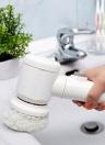 5-в-1 Портативная ручная электрическая чистящая щетка Ванная комната Кухня Керамическая плитка Мойка Скраб Моющие средства