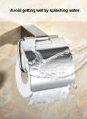 Homgeek Parete cromato in acciaio inox carta igienica del tessuto della cremagliera del gancio per Bagno bagagli Cucina Iniziale Hotel