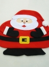 Festnight Santa Clause pranzo Mat alta qualità Babbo Natale Tabella morbido tappeto a doppio strato stuoia di posto per il Natale con il tovagliolo