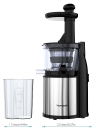 Homgeek Household Stainless Steel Slow Juicer Slag Juice Separation Stirrer Low Speed Squeezer 200W Kitchen Purpose Automatic Juice Machine 100-120V