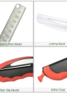 Multi-purpose Detachable 2 in 1 Kitchen Food Clever Cutting Board Scissors Meat Vegetable Slicer Cutter Knife