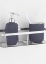 Практичный держатель стойки для хранения Многофункциональное пространство для хранения Настенный прибор для ванной комнаты