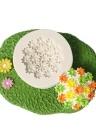 1 Pcs Forma De Flor De Silicone Fondant Molde Moldes De Chocolate para Decoração Do Bolo Sugarcraft Resina De Argila Do Polímero