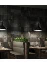 Patrón de piedra 3D Vivid ladrillo chino retro del estilo desmontable imitación de la pared de ladrillo Fondo de Pantalla de decoración de interior Antecedentes 0.53m * 10m = 5.3㎡