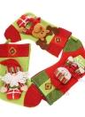 3pcs Santa Claus Snowman Rena Natal Natal Pendurado Ornamentos Festival Decoração Meias