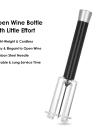 New Pump Air Pressure Wine Bottle Opener Corkcrew with Foil Cutter & Wine Pourer & Vacuum Stopper