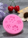 Romantic Sunflower Chrysanthemum Shape Silicone Decorating Craft Mold for Cake Cupcake Fondant Chocolate Jello Candy Biscuit and Soap Mold
