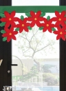 Christmas Window Valance Decor Christmas Short Curtain Decorations Ornaments for Living Room Bedroom