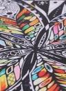 HD Imprimé 5-Panneau Sans Cadre Fleur Fille Motif Toile Peinture Mur Art Photos Décor pour Maison Salon Chambre