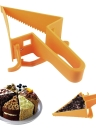 Adjustable Cake Cutter Plastic Unique Triangle Design Cake Separator Server DIY Baking Utensils Cake cutting Tool Reusable Bakeware Cakes Accessories Mold Home Kitchen Supplies