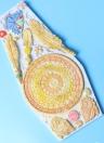 Campanula campane eoliche cioccolato fondente torta che decora attrezzo bordo in pizzo stampo in silicone cottura Sugarcraft gumpaste stampi colore casuale