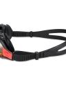 Unisex anti-fog UV proteção inquebrável natação profissional óculos com alergia caso cinta de Sillicone grátis óculos de natação