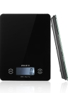 5KG/1G Accurate Touch Screen LCD Backlight Digital Kitchen Food Scale G/LB/OZ Electronic Weight Balance for Baking Cooking Tare Function