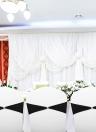 50 pcs Bling Bling Mariage Chaise Ceintures Arcs Élastique Spandex Chaise Sash Couvre Bandes De Mariage Fournitures Décorations - Bleu Clair