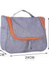 Multifunctional Travel Cosmetic Bag Hanging Toiletry Makeup Pouch Woman Men's Wash Case Organizer Accessories Supplies Water Resistant with Mesh Pockets Sturdy Hanging Hook Shower Bag Large Capacity Bathroom Shaving Kit