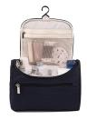 Femmes Voyage Maquillage Sac Multifonction Cosmétique Sacs Polyester Mode Étanche De Stockage Trousse de Toilette Organisateur Hommes (bleu marine)