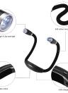 Flexible Adjustable 4 LED Hug Light Neck Book Night Lamp Torch for Study Reading