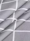Htovila 72 * 72 '' 100% Poliéster Protección de privacidad decorativa Cortina de baño Impermeable a prueba de moho cortina de ducha antibacteriana con 12pcs ganchos