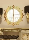 DIY Acrylic Solid Mirror Wall Sticker Bathroom Porch Ceiling Decoration Stickers