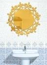 DIY Acryl Solide Spiegel Wandaufkleber Badezimmer Veranda Decke Dekoration Aufkleber
