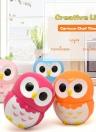 Kitchen Timer Lovely Cartoon Owl 60 Minute Mechanical Timer Cooking Little Helper Student Homework Timer